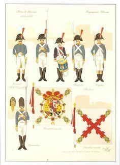 Spain; Infantry Regiment Ultonia(Irish), 1808-09