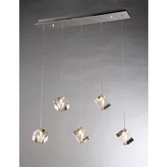 Firefly Floating Crystal 5-light Dangling Pendant | Overstock.com Shopping - The Best Deals on Chandeliers & Pendants