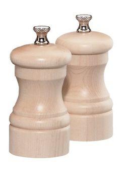 Trudeau 071344BD Professional 12-Inch Espresso Wood Finish Pepper Mill Beechwood
