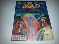 Vintage Mad Magazine No. 200 July 1978 Close Encounters of the Third Kind Cover