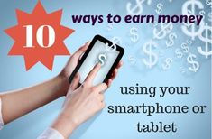 Do you have a smartphone or tablet that just sits on a desk or counter all day? Why not install some of these apps and have it start earning some money for you? These apps really work, not a spam or scam.