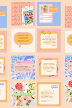 Instagram Feed Planner, Instagram Feed Ideas Posts, Instagram Feed Layout, Instagram Grid, Instagram Design, Graphic Design Tips, Web Design, Graphic Design Inspiration, Branding Template