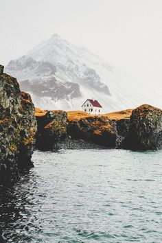 Cliff House, Anarstarpi, Iceland