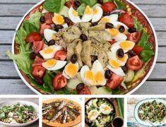 Recepten: 5x zomerse maaltijdsalades voor doordeweeks Cobb Salad, Avocado, Lunch, Vegetables, Food, Poker, Bowls, Eco Friendly, Dressing