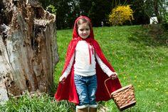 Handmade Red Riding Hood Cape Childrens by OriginalsbyLaurenToo, $25.00