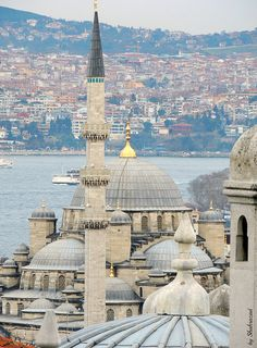 View of Istanbul and