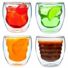 Doppelwandiges Thermoglas 200ml CURVA mit Schwebeeffekt 4er Set: http://cocktail-glaeser.de/set/doppelwandiges-thermoglas-200ml-curva-mit-schwebeeffekt-4er-set/