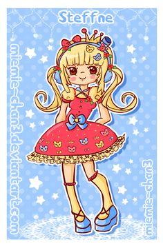 kawaii Steffne by miemie-chan3.deviantart.com on @deviantART #fairykei | #sweetlolita