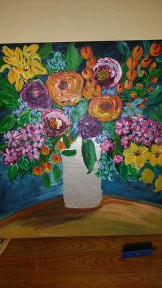 Boho revival painting