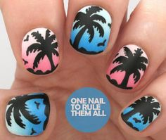 Palmtrees, woah, perfects. *-*