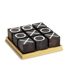 Deco Tic Tac Toe-Black