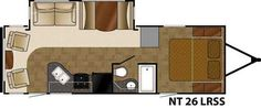 2016 New Heartland North Trail 26LRSS Travel Trailer in Ohio OH.Recreational Vehicle, rv, 2016 Heartland North Trail 26LRSS New Arrival