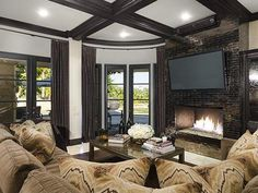 Khloe Kardashian's California Home: Family Room