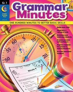 Seventh-Grade Math Minutes! What can you and your class accomplish in a minute? With this great activity book, a quick reinforcement of basic math skills! Seventh Grade Math, Fourth Grade Math, Eighth Grade, First Grade Math, Grade 3, Math Class, Second Grade, Math Minutes, Grammar Skills