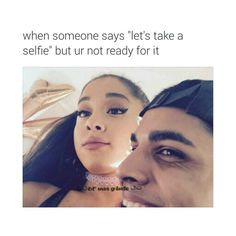"""Every single time :""""). But she looks so pretty even when she isn't prepared and i look like a freakin' potato on every picture! Save amd follow me if you agree :)"""