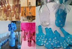 Τα πιο δημοφιλή έργα Diy: Καλύψτε τα μπουκάλια με τα μπαλόνια και να δούμε πώς Υπέροχες θα ψάξει
