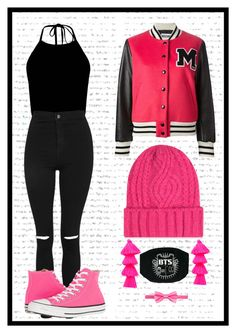 """""""Mariana"""" by antonina71 on Polyvore featuring Topshop, Moschino, Misa and Converse"""