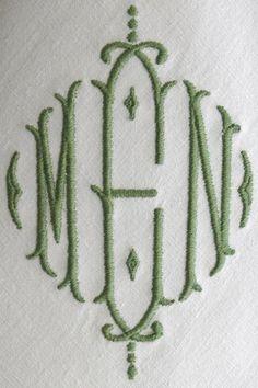 monogrammed napkins monogram napkin personalized embroidered monogram napkin dinner cloth napkin made with vintage french metis linen
