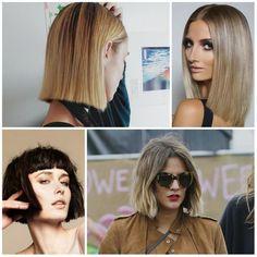Moderne Blunt Bob Coupes de cheveux pour 2017