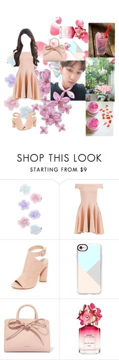 """Date withe The8"" by aurora-lynn-love ❤ liked on Polyvore featuring Monsoon, Boohoo, Kendall + Kylie, Casetify, Mansur Gavriel and Marc Jacobs"