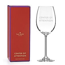 image of kate spade new york Uncorked Center of Attention™ Wine Glass