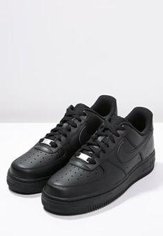 Nike Sportswear AIR FORCE 1 FLYKNIT Tenisówki i Trampki wysokie whiteblack