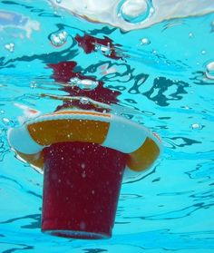 Drink Preservers are the 1st dedicated product to assuredly float your drink in the pool or spa next to you as you chill.