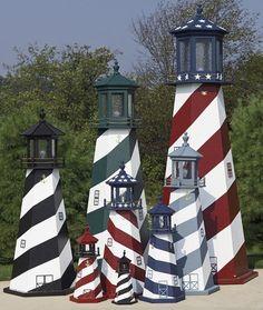 Wooden Lighthouses   Ornamental Lighthouses
