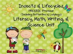 Insects & lifestyle freebie