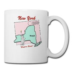New York Coffee Mug exclusively from PersonalizedSouvenirs.com.