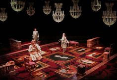 The Misanthrope. Arena Stage. Set design by William Bloodgood. 2000