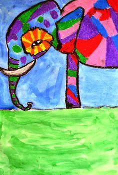 5th Grade: Painted Elephants