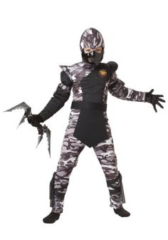 California Costumes Arctic Forces Ninja Child Costume Medium * Continue to the product at the image link. (Note:Amazon affiliate link)
