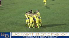 Marc Goodfellow's Free kick - Goal. King's Lynn Town Fc vs Witton Albion 16/11/13