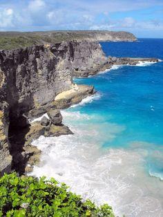 Guadeloupe, Grande Falaise, Anse-Bertrand