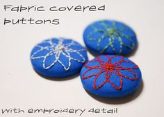 Delorme Designs: BUTTONS
