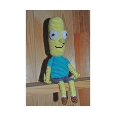 Mr. Poopybutthole with bendable arms and legs/Mr. by VictoriaYevl