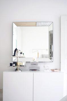 Bathroom Medicine Cabinet, Bathroom Vanity, Decor, Inspiration, Home, Interior, Elegant Homes, Gray Interior, Double Vanity