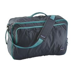 """The Patagonia Headway MLC® 45L is a rugged soft-sided suitcase that converts to a backpack and meets most carry-on requirements. Holds most 17"""" laptops."""