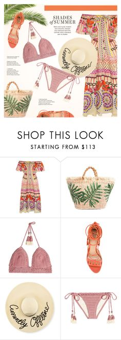 """Shades of Summer"" by redflowergirl on Polyvore featuring Temperley London, SHE MADE ME, Paula Cademartori and Eugenia Kim"