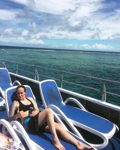 Snorkelling the Great Barrier Reef!!  #greatbarrierreef #fish #ocean #clouds #sky #shark #octopus #sunbath #tan #sunburnt #cruise #queensland #cairns #portdouglas #holiday by tweak_86 http://ift.tt/1UokkV2