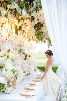45 Romantic Floral Inspiration. Tasteful and Elegant Wedding Reception Décor. http://www.modwedding.com/2014/02/08/learn-can-put-together-perfect-wedding-floral-arrangements-save-money-plus-45-romantic-floral-inspiration/ #wedding #weddings #reception #ceremony #centerpiece #bouquet