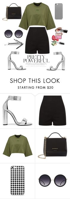 """""""Powerful"""" by silviamachado20 ❤ liked on Polyvore featuring Tom Ford, Givenchy and Alice + Olivia"""