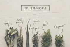 DIY Wedding Bouquet Tutorial: How To Make Herb Bouquets | The Knotty Bride™ Wedding Blog + Wedding Vendor Guide