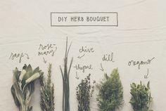 DIY Wedding Bouquet Tutorial: How To Make Herb Bouquets | The Knotty Bride™ Wedding Blog + Wedding Vendor Guide