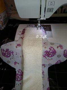 Des serviettes hygiéniques maison (tuto + patron à faire maison) SHL fini le gaspillage