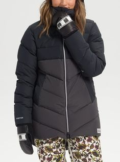 Shop the Women's Burton Loyle Down Jacket along with more winter jackets and outerwear from Winter 2020 at Burton.com Outerwear Women, Outerwear Jackets, Womens Snowboard Jacket, Burton Snowboards, Snow Pants, Shirt Jacket, Snowboarding, Jackets For Women, Winter Jackets
