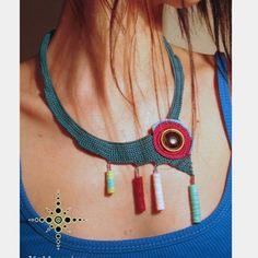 #alıntı #kolye #iğneoyası #elemeği #göznuru #handmade #tığişi #kolye