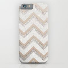 NUDE CHEVRON iPhone 6 Plus Case