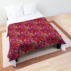 Swirl Design, College Dorm Rooms, Square Quilt, Home Decor Items, Quilt Patterns, Comforters, Duvet Covers, Digital Art, Blanket